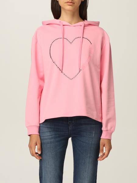 Love Moschino 女士: Love Moschino 水钻棉质卫衣