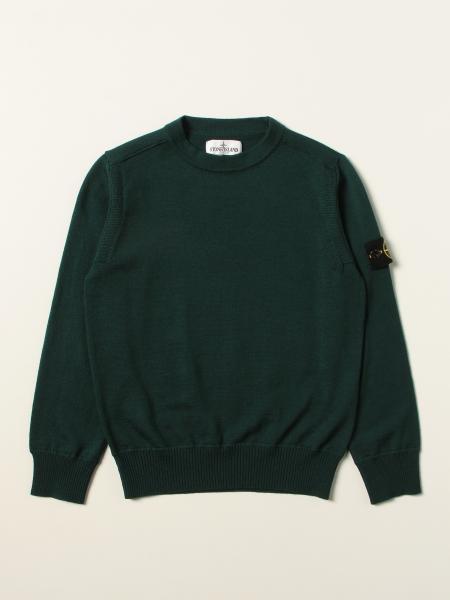 Stone Island Junior: Girocollo lana leggera