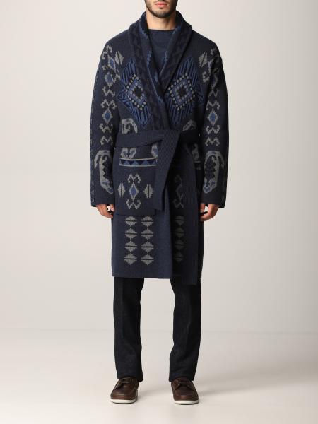 Cappotto a vestaglia Etro in lana