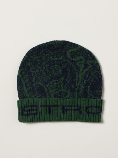 Etro: Etro hat in paisley wool