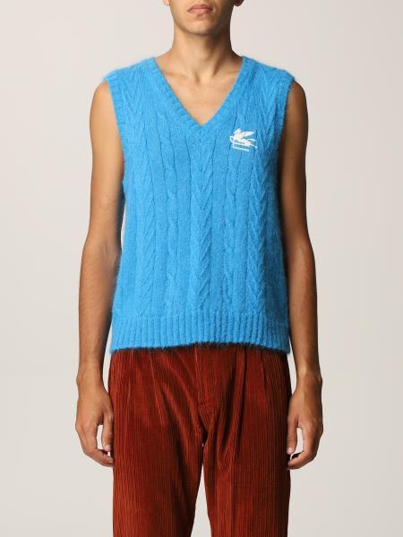 Etro men: Etro vest with Pegasus logo