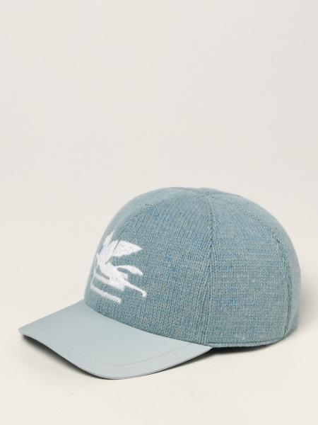 Etro uomo: Cappello da baseball Etro con logo Pegaso