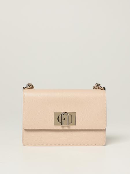 Furla women: 1927 Furla Bandolier Bag in grained leather