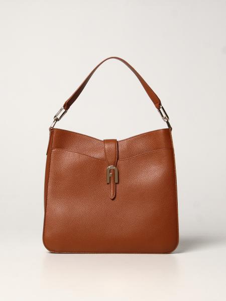 Sofia Furla bag in hammered leather