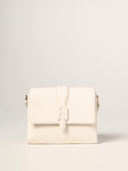 Furla women: Sofia Furla bag in hammered leather