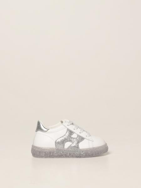 J582 Hogan Baby sneakers in leather