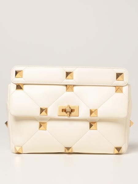 Valentino women: Valentino Garavani Roman Stud bag in nappa leather