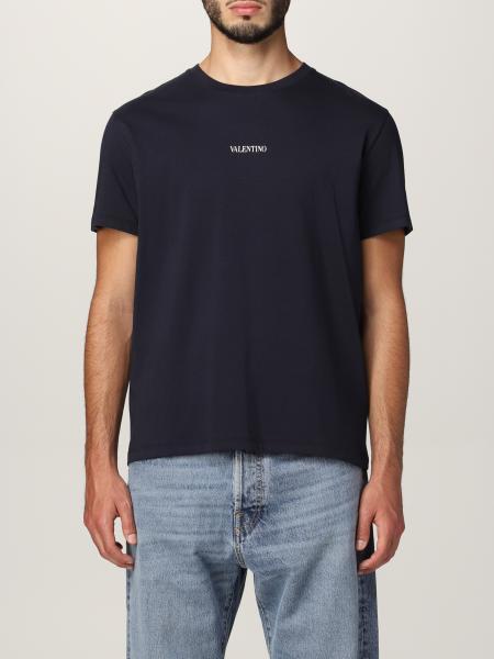 T-shirt Valentino in cotone con logo