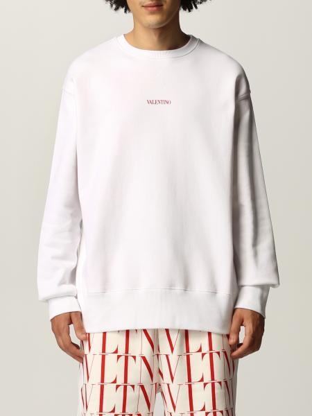 Valentino Logo 棉质卫衣