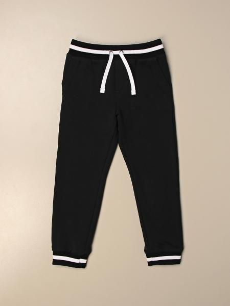 Dolce & Gabbana cotton jogging trousers with logo