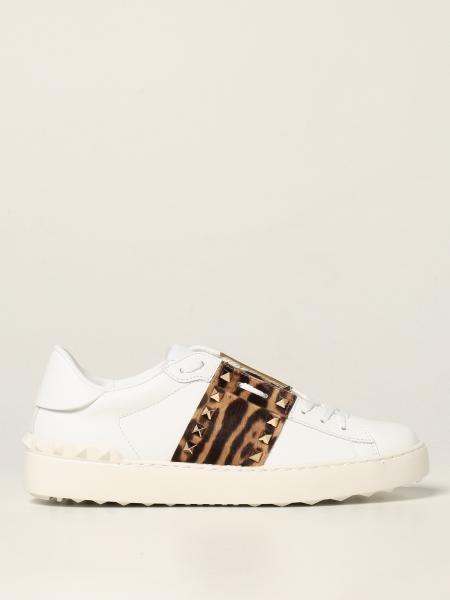 Sneakers Rockstud Untitled Valentino Garavani in pelle di vitello