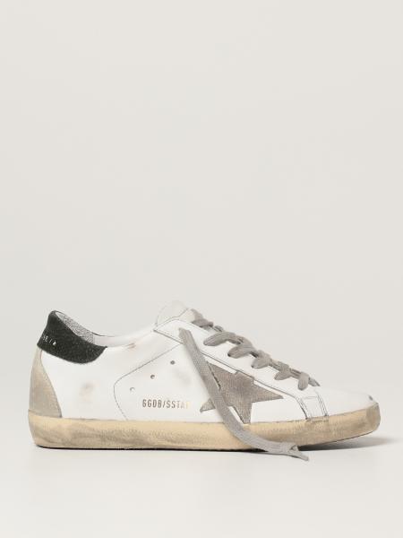 Golden Goose: Sneakers Superstar classic Golden Goose in pelle