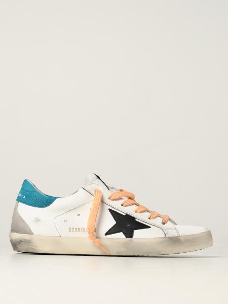 Sneakers Super-Star classic Golden Goose in pelle