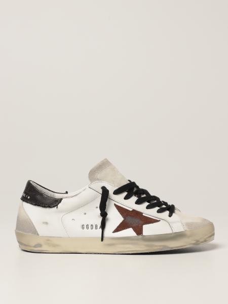 Golden Goose: Sneakers Super-Star classic Golden Goose in camoscio