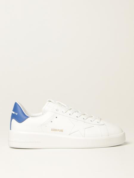 Sneakers Pure New Golden Goose in pelle