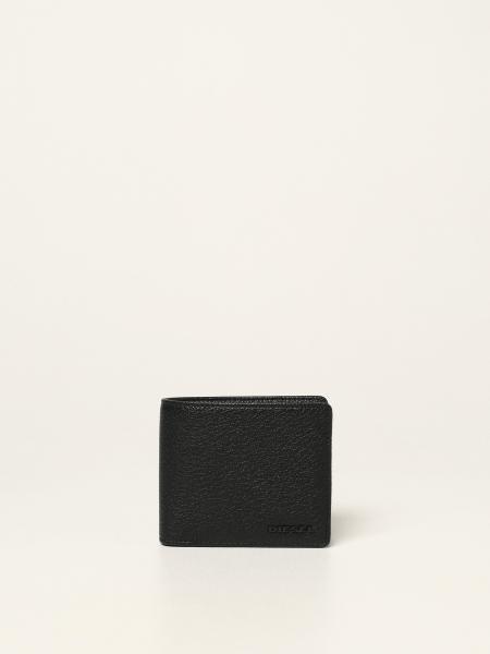 Diesel men: Diesel wallet in grained leather
