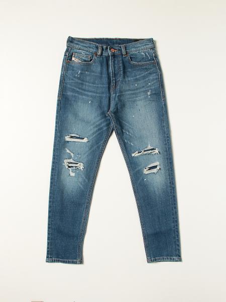Jeans D-vider Diesel in denim washed