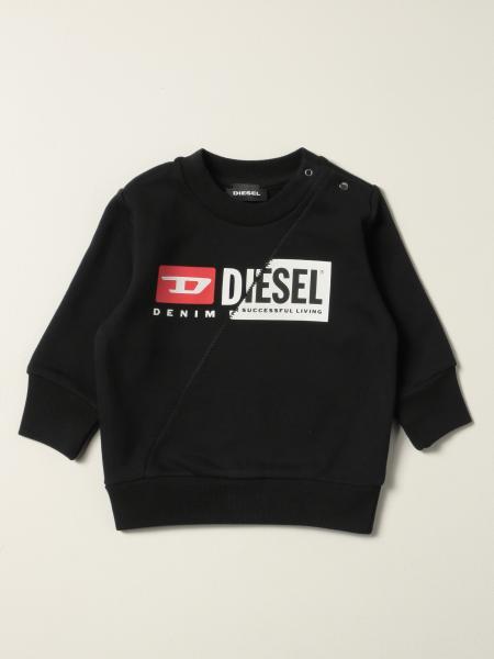 Diesel Logo 棉质圆领卫衣