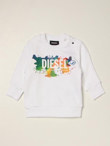 Diesel Logo装饰棉质卫衣