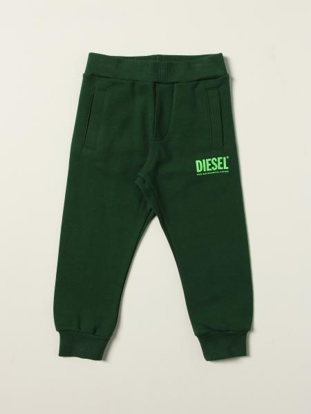 Diesel Logo 棉质慢跑裤
