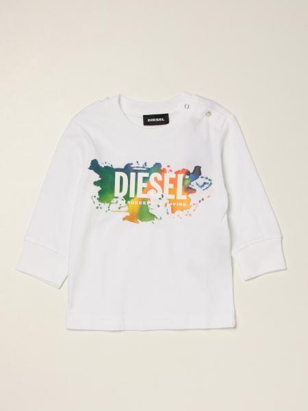 Diesel Logo 棉质 T 恤