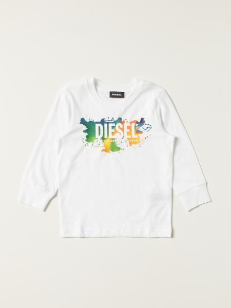 Diesel 棉质毛衣,飞溅色彩的Logo