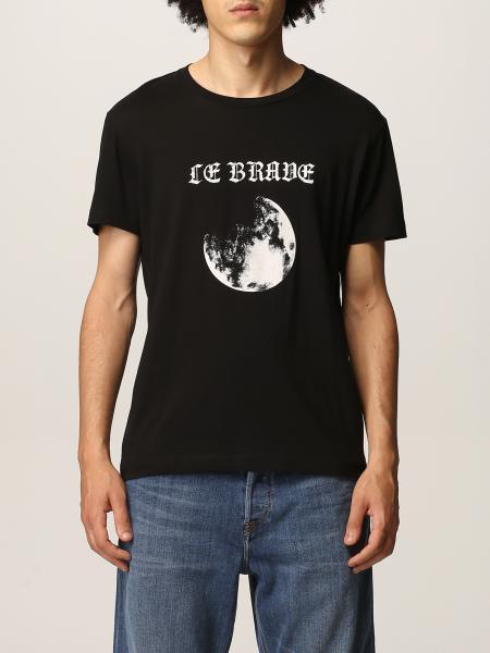 T-shirt Diesel in cotone con stampa luna