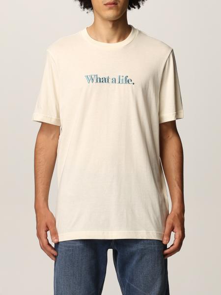 T-shirt Diesel in cotone con ricamo