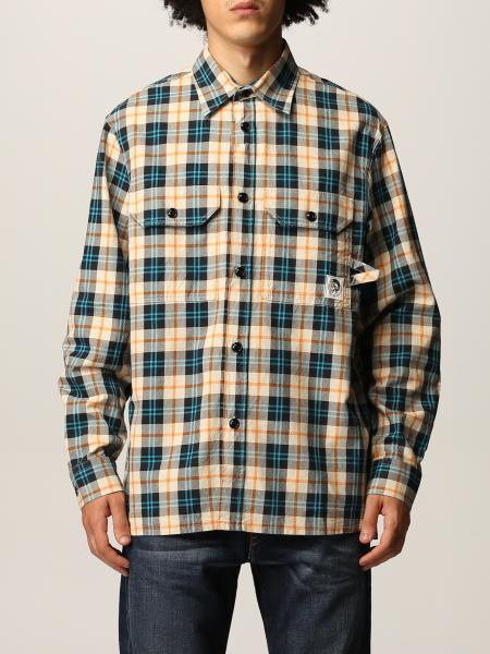 Diesel men: Oxford Diesel check shirt