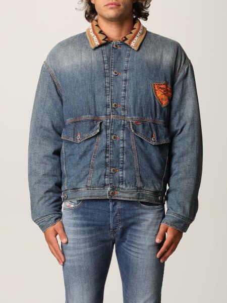 DxD-J3 denim jacket in padded denim