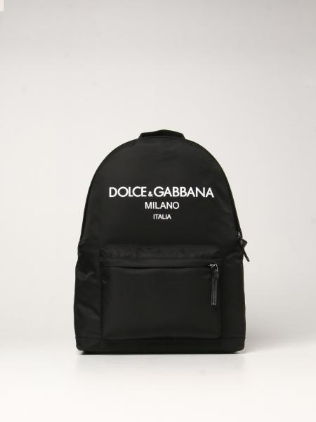 Dolce & Gabbana nylon rucksack with logo