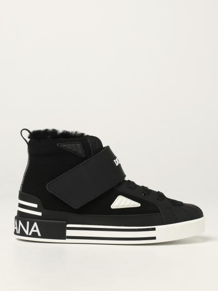 Sneakers Dolce & Gabbana in camoscio