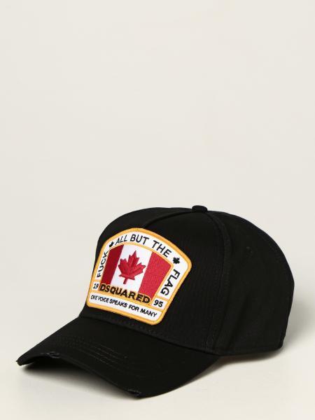 Dsquared2 men: Dsquared2 baseball cap with logo