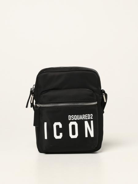 Borsello Dsquared2 in nylon con logo Icon