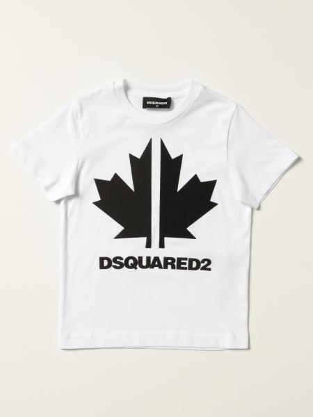 T-shirt Dsquared2 Junior in cotone