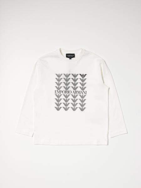 T-shirt Emporio Armani in cotone con logo stampato