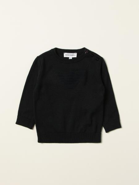 Emporio Armani sweater in cotton and wool