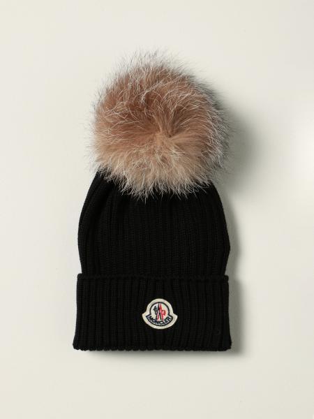 Cappello a berretto Moncler in lana vergine