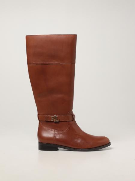 Baylee Lauren Ralph Lauren leather boot