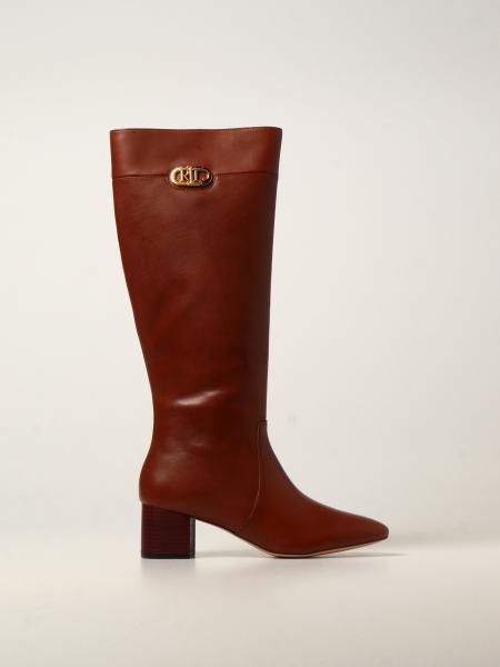 Lauren Ralph Lauren leather boots