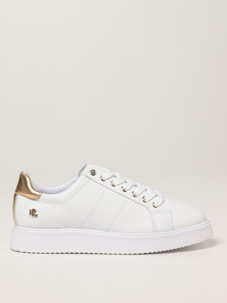 Lauren Ralph Lauren: Sneakers Lauren Ralph Lauren in pelle