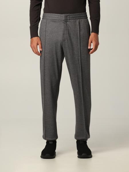 Pantalone jogging Ermenegildo Zegna in jersey lana
