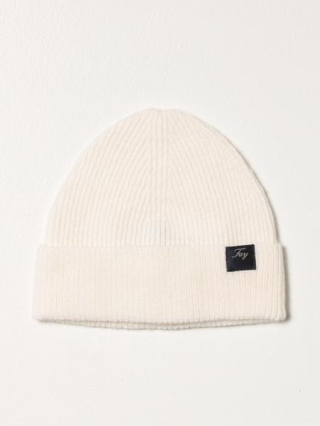 Cappello a berretto Fay in lana a coste