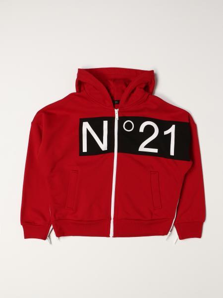 N ° 21 hoodie in cotton