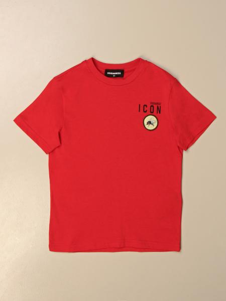 Dsquared2 Junior cotton T-shirt with Icon logo