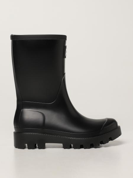 Twin-set rubber boots