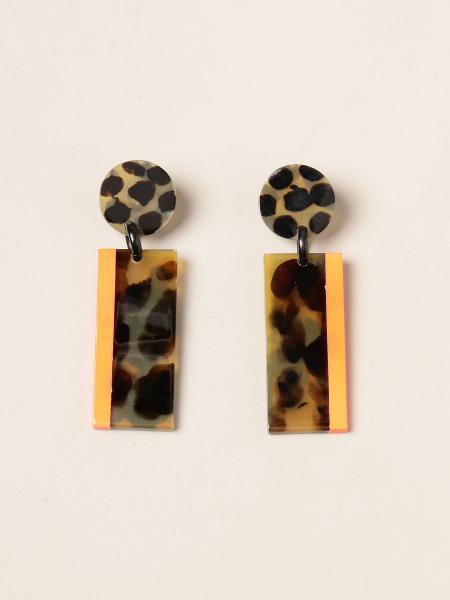 Allujewels: Orecchini corno Allu' jewels con strisce laccate