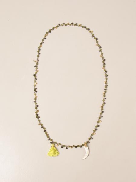 Allujewels: Collana Palermo Allu' jewels con perle di vetro