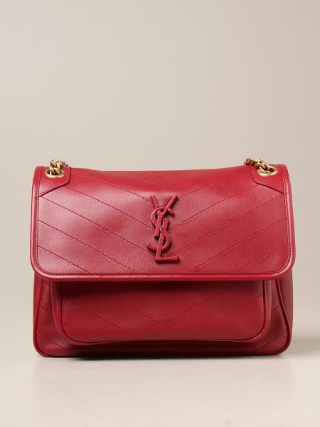 Saint Laurent women: Niki Saint Laurent bag in quilted leather