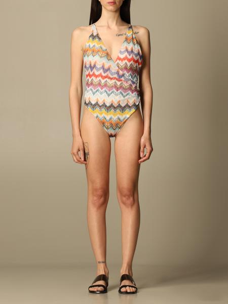 Missoni Mare patterned one-piece swimsuit